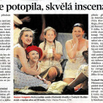 Archa naděje se potopila, skvělá inscenace vyplula, Deník, Jitka Rauchová, 29.12.2015