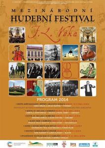 Hudební festlival F. L. Věka 2014