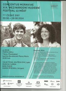Requiem 2014 - Porta Coeli, Předklášteří u Tišnova, 9.6.2014 v 19:30